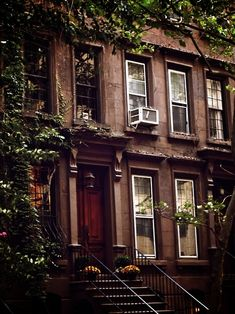 My Brooklyn brownstone.