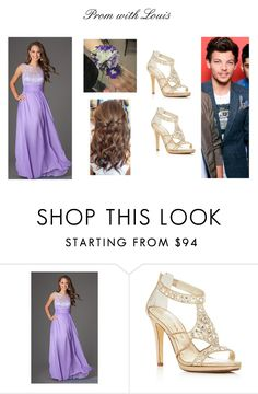 """Prom with Louis"" by sophie-tomlinson-10 on Polyvore featuring Caparros"