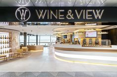 Wine & View at Helsinki Airport with the modulars of ByTheGlass