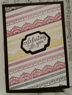 Stampin with Karen Spreckley - Stampin Up Delicate Details
