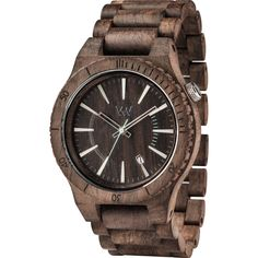 WeWood Assunt Rough Indian Rosewood Watch   Chocolate