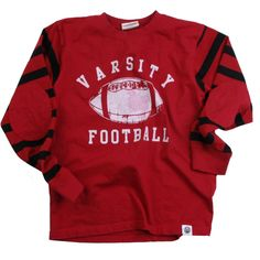 Red 21 - Boys Varsity Football Jersey Shirt - Infants, $28.00 (http://www.red21boys.com/boys-varsity-football-jersey-shirt-infants/) I just pinned my favorite outfit for the #Red21 #FallStyles Must-Haves.