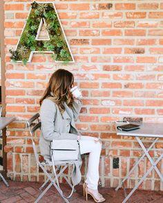 "styled by NOIR on Instagram: ""Not ready to get back to work yet // #butfirstcoffee #styledbyNOIR #alfredlady"""