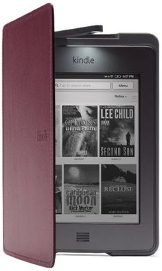 This lighted cover is so wonderful for Kindle!