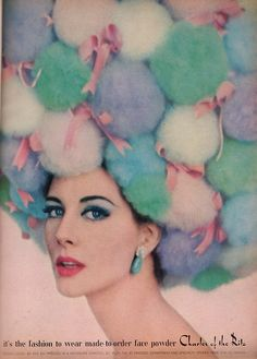 Charles of the Ritz Ad, Glamour February 1962