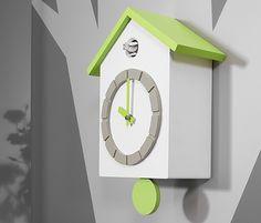 kukačky Clock, Wall, Home Decor, Products, Cuckoo Clocks, Contemporary Design, Work Shop Garage, Watch, Decoration Home