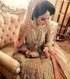 The most stunning @republicwomenswear bride via @irfanahson #pakistanistyleguide