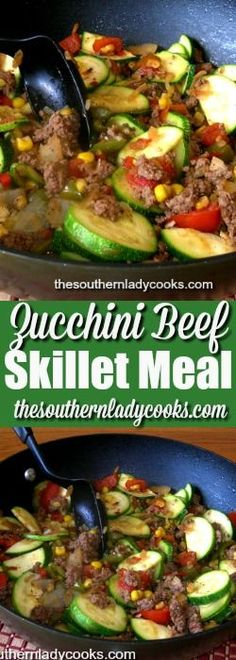 Zucchini beef skillet is one of my favorite ways to prepare this summer vegetable. I am always looking for new ways to use up zucchini and this zucchini beef skillet meal is fast and easy.  …