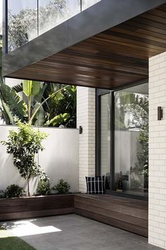 Middle Park Residence by Baldasso Cortese Architects is an existing double-fronted weatherboard house which has been transformed into a modern home in the picturesque Middle Park, Victoria.