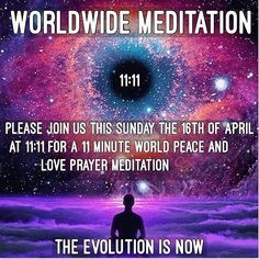 We decided to team up with our consciousnesses family to bring to you guys another world meditation especially since the last one was so successful!  1111 Peace Earthlings Channelled Message from Above High to recipients of the Conscious Collective Awaken
