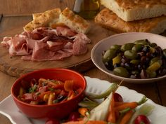 Antipasti Platter : The key to Giada's antipasti platter is preparing things in advance so that you can be a guest at your own party.