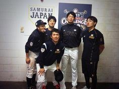広島速報 : カープの侍ジャパン4人の写真wwwww