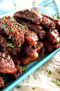 Chinese Pork Rib Recipe, Chinese Ribs, Chinese Food, Chinese Takeaway, Pork Rib Recipes, Meat Recipes, Asian Recipes, Smoker Recipes, Chinese Recipes