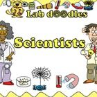 Introduce your students to scientists at work!    This clipart set contains scientists from 6 different areas: Astronomy, Biology, Chemistry, Physics...