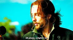 Pin for Later: Why Sleepy Hollow's Ichabod and Abbie Are Meant to Be All the sass.
