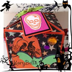 Kory B. Halloween box card