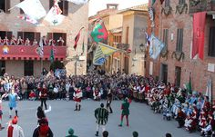 Spring begins in March and Italy provides some suitably exciting and traditional events and festivals