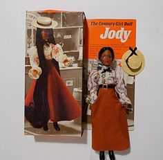 Ideal Jody African American Doll Vintage Country Girl HTF With Box #IDEAL #DollswithClothingAccessories