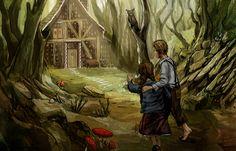 Hänsel und Gretel BookiduHansel and Gretel Bookidu - Bookidu