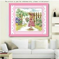 Cross-stitch Arts,crafts & Sewing Generous The Moonlight Orchid Chinese Counted Cross Stitch Pattern Embroidery Cross Set Painting Home Decor 11ct 14ct Printed On Canvas