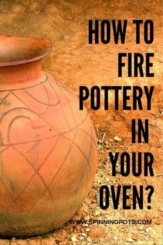 You want to get started with pottery, but you don't want to spend a ton of money to begin. Well, you can actually start by firing pottery in your oven. Pottery Kiln, Pottery Handbuilding, Ceramic Pottery, Pottery Houses, Pottery Workshop, Pottery Studio, Clay Projects, Clay Crafts, Beginner Pottery