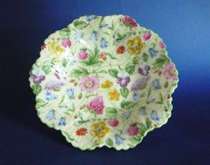 Image detail for -... china countryside chintz dish c1940 sold a classic fine bone china