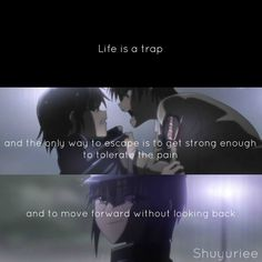 Anime quote This is angel beats right? Sad Anime Quotes, Manga Quotes, Emo Quotes, Angel Beats, Anime Angel, Otaku, Dc Anime, Noragami Anime, The Ancient Magus Bride