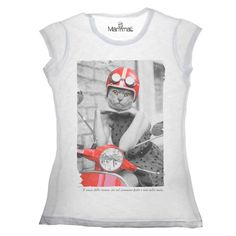 T-shirt gattina Available on www.manymaltshirt...