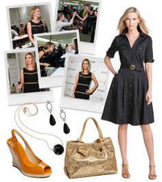 Ivanka Trump.  Simple, classic styles.  And shoes that pop!