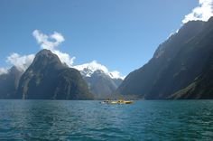 Milford Sound, South Island, New Zealand... It's more beautiful in person! February 2010