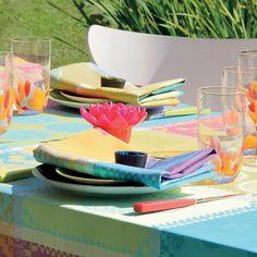 Mille Batik Vibrant Tablecloth