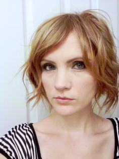 beachy waves are hard to achieve on my hair when it's short, but i love this...and the color is fabulous!