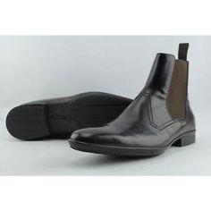 Pollini Taglia Men US 10 Brown Ankle Boot Blemish  14049 | eBay