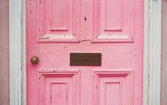 pretty pink door