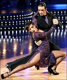 Cheryl Burke & Gilles Marini  -  Dancing With the Stars -- season 8  -  spring 2009  -  dance the Argentine Tango  -  placed 2nd for the season behind Mark Ballas & Shawn Johnson