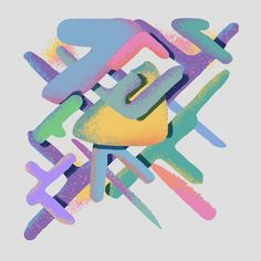 Shapes on Behance