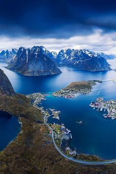 The beautiful view from Reinebringen, Lofoten in Norway ?The beautiful view from Reinebringen, Lofoten in Norway ? Lofoten, Places To Travel, Places To See, Travel Destinations, Wonderful Places, Beautiful Places, Landscape Photography, Nature Photography, Photography Tips