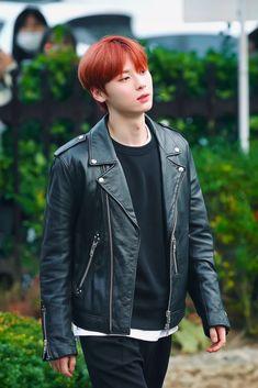Nu'est Jr, Nu Est Minhyun, Star K, Kim Jaehwan, Pledis Entertainment, Yoona, Leather Jacket, Punk, Beautiful