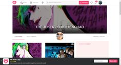 THE JOKER / SUICIDE SQUAD by Leilaval on WHI
