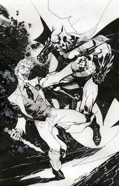 Batman vs. The Joker - Jim Lee