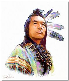 I love this drawing of Graham Greene playing Kicking Bird in Dances With Wolves… Native American Paintings, Native American Wisdom, Native American History, Native American Indians, Native Americans, American Art, Native Indian, Native Art, Indian Art