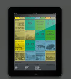 Scottish Architecture is a website specifically created to engage non-architecture professionals, making news and features accessible to a wider public audience. Visually rich browsing is aided by the restrained layout and vibrant colour coding meaning visitors can easily orientate through a tabbed menu.