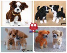 106 Crochet Pattern Shih Tzu puppy dog - PDF file Amigurumi by Chirkova Etsy Double Crochet, Single Crochet, Crochet Yarn, Crochet Hooks, Shih Tzu Puppy, Fabric Tape, Dog Pattern, Sewing Basics, Slip Stitch