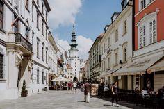 Michaelertor Bratislava, Street View, One Day Trip, Traveling, Tips
