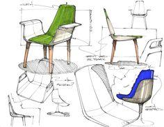 Sketchbook by David Ngene, via Behance