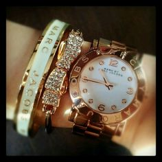 Marc by Marc Jacobs Bracelet and Marc by Marc Jacobs Watch