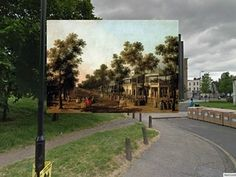 pleasure gardens   View of The Grand Walk by Canaletto (1751) The Pleasure Gardens in Vauxhall, seen in this Canaletto painting, hosted music and live entertainment during the 1600s. (It is also where Amelia's brother Joseph gets drunk in Thackeray's novel Vanity Fair.) Photograph: shystone/Reddit