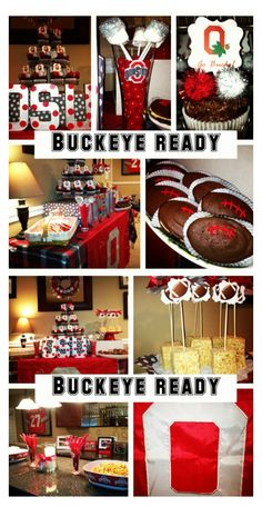 Ohio State University party ideas | Charming Touch Parties