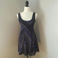 Free People Fit and Flare Dress Excellent condition. Fully lined. Scoop back. Fast shipping. Thank you for shopping my closet. Free People Dresses Mini