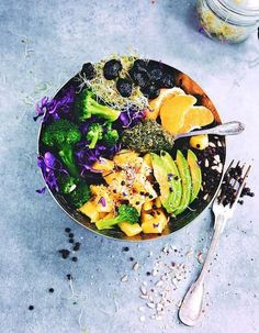 30 recettes anti-stress pour garder forme et vitalité Entree Recipes, Raw Food Recipes, Veggie Recipes, Vegetarian Recipes, Cooking Recipes, Healthy Recipes, Veggie Snacks, Italian Recipes, Veggie Bowl